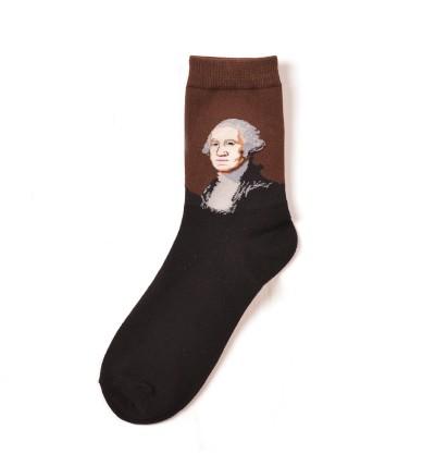 """Vyriškos kojinės """"Džordžas Vašingtonas"""""""