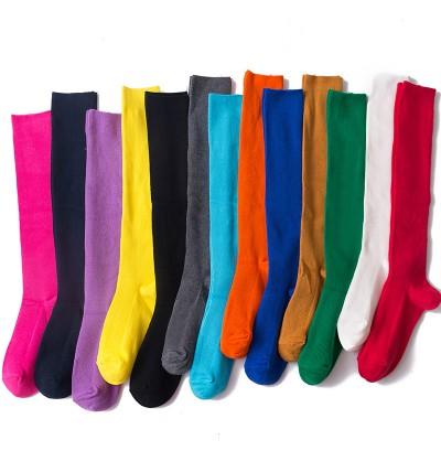 """Moteriškos kojinės """"Iki kelių"""" (įvairių spalvų)"""