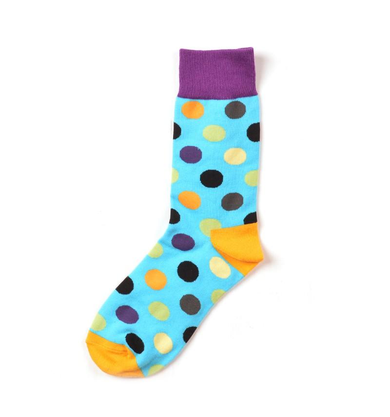 """Vyriškos kojinės """"Taškis"""" (mėlynos)"""
