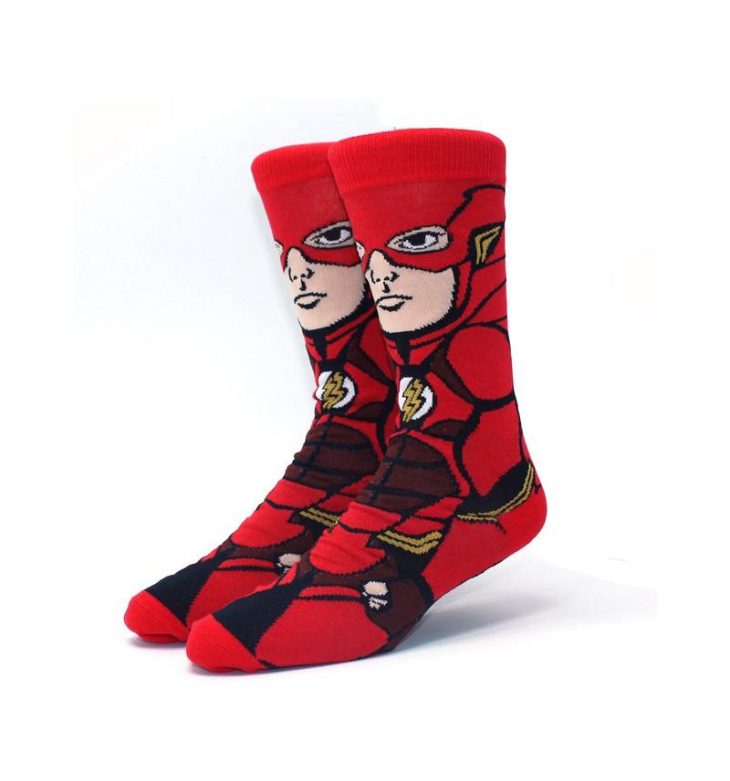 """Vyriškos kojinės """"The Flash"""" (nukainota prekė)"""