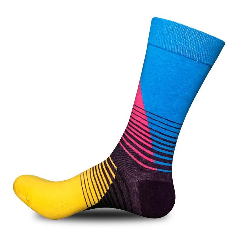 """Vyriškos kojinės """"Miglas"""" (mėlynos)"""