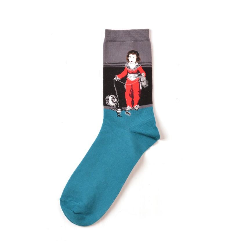"""Vyriškos kojinės """"Raudonas berniukas"""""""