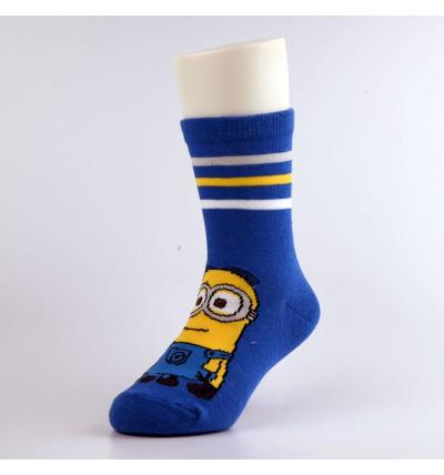 """Vaikiškos kojinės """"Minimukai"""" mėlynos"""