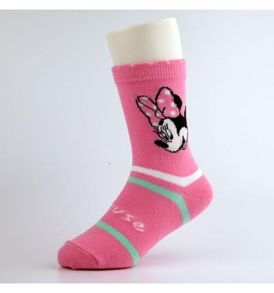 """Vaikiškos kojinės """"Minė"""" rožinės"""