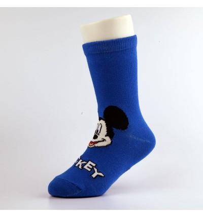 """Vaikiškos kojinės """"Mikis"""" mėlynos"""