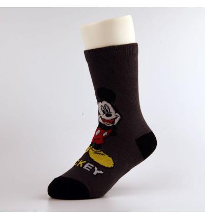 """Vaikiškos kojinės """"Mikis"""" tamsiai pilkos"""