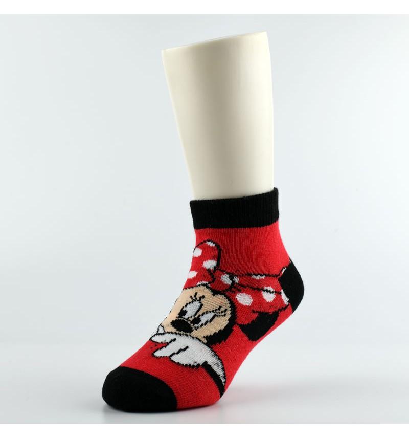 """Vaikiškos kojinės """"Minė"""" raudonos"""