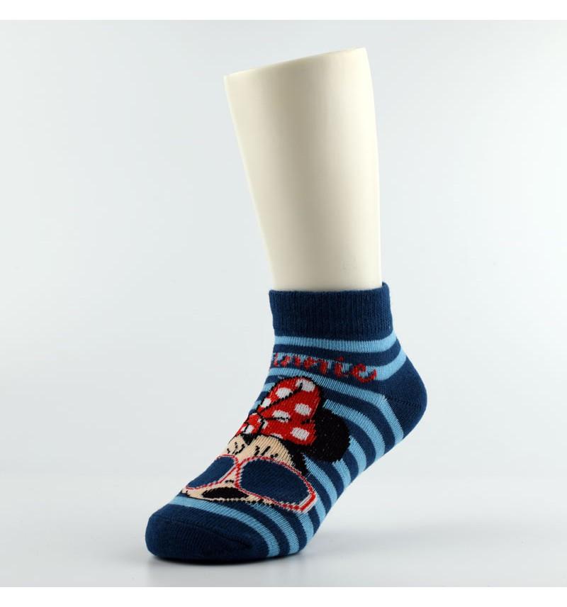 """Vaikiškos kojinės """"Minė"""" mėlynos"""