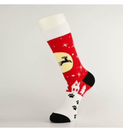 """Šventinės kojinės """"Kalėdų naktis"""""""