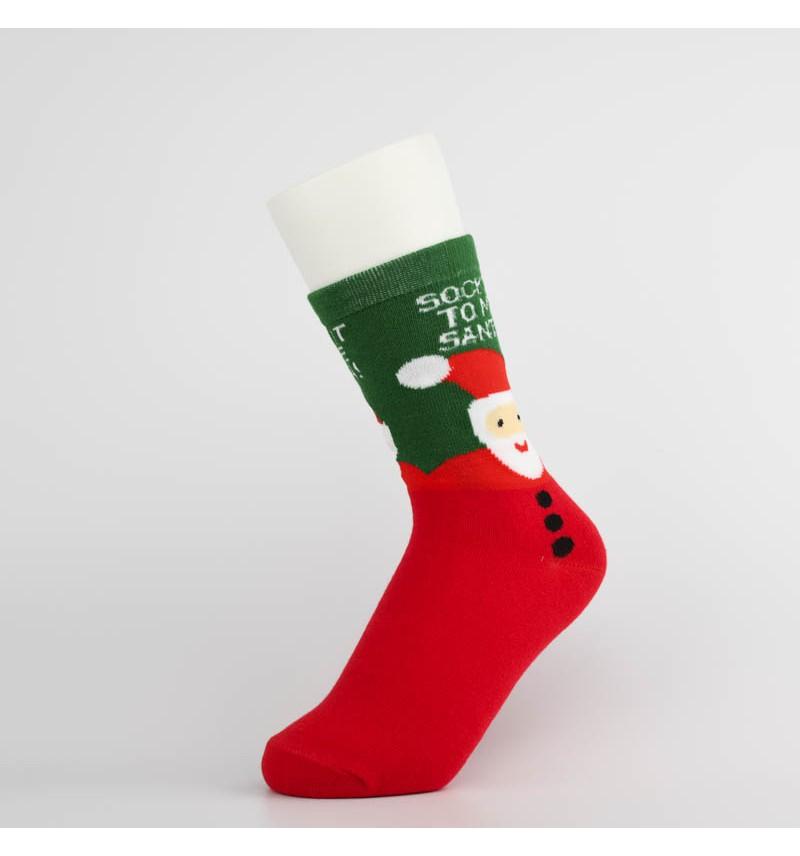 """Šventinės kojinės """"Sock it to me Santa!"""""""