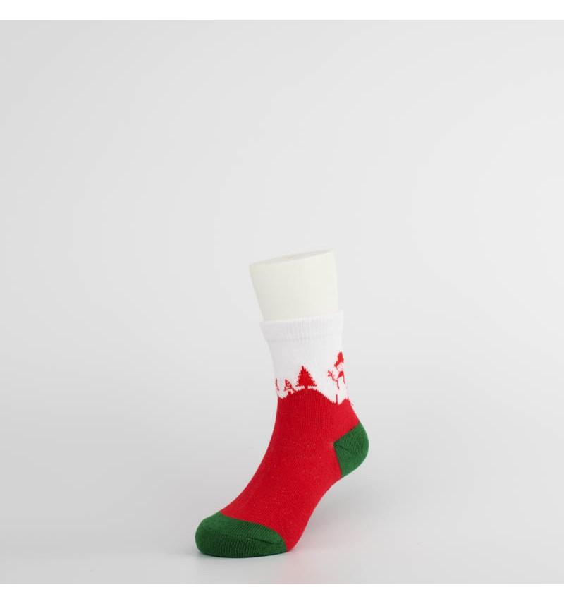 """Šventinės kojinės vaikams """"Žiemos pasaka"""""""