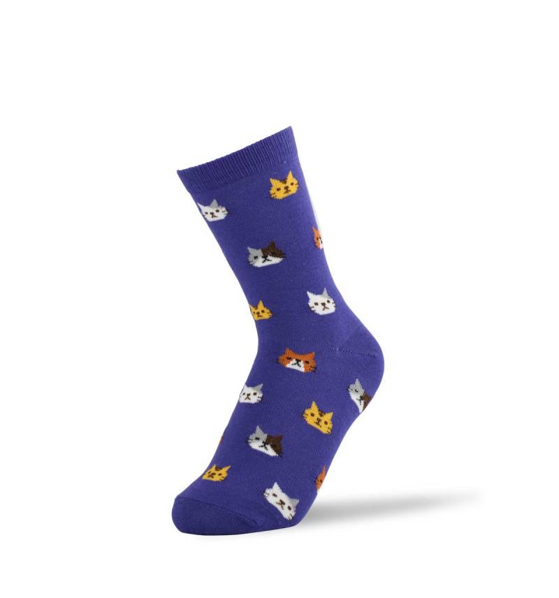 """Moteriškos kojinės """"Kačiukai"""""""