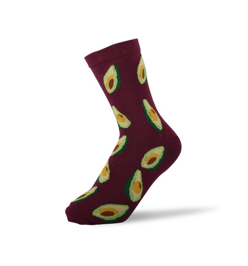 """Moteriškos kojinės """"Avokadas"""""""