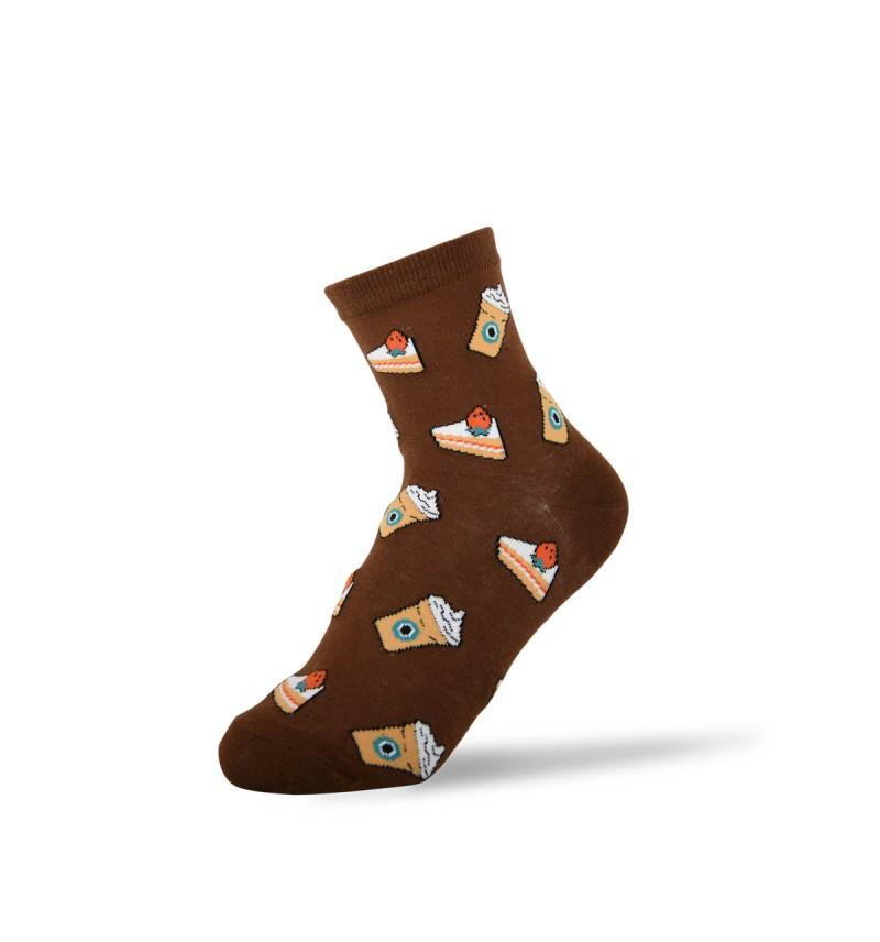 """Moteriškos kojinės """"Torto gabalėlis"""""""