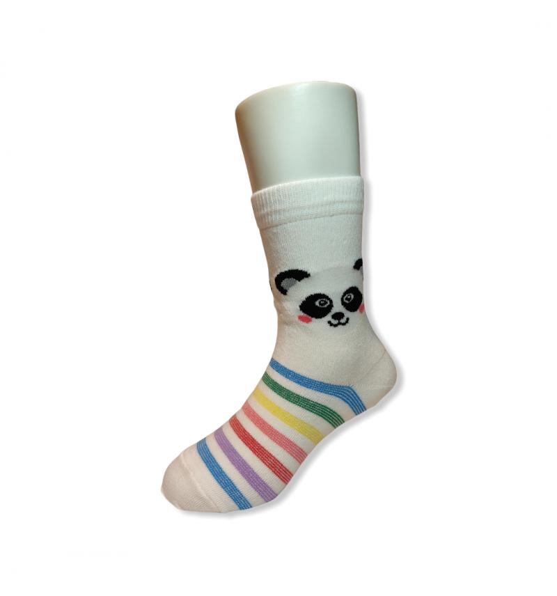 """Spalvotos kojinės vaikams """"Pandutė"""""""