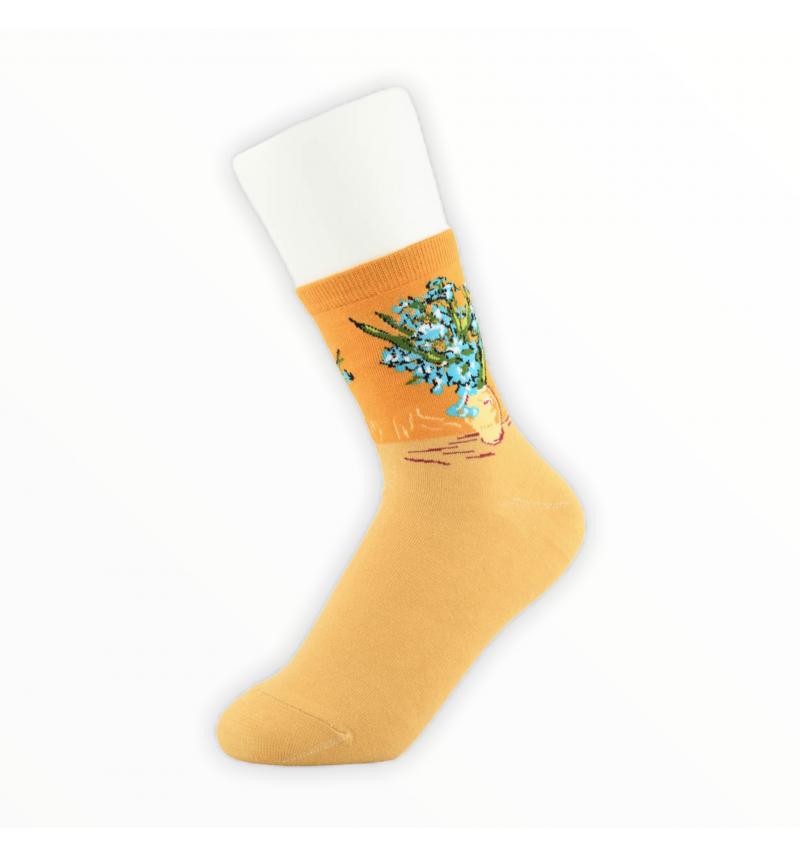 """Moteriškos kojinės """"Neužmirštuolės"""""""