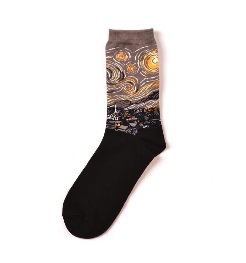 """Vyriškos kojinės """"Žvaigždėta naktis"""""""