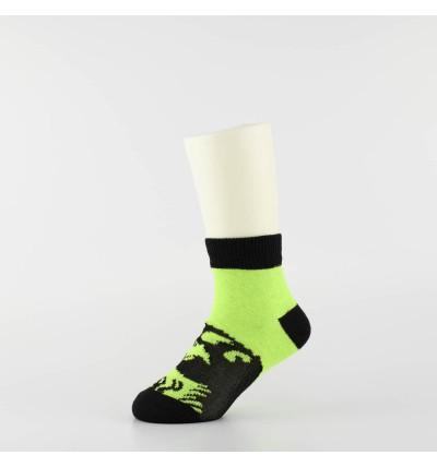 """Vaikiškos kojinės """"Jūros periodo parkas"""" (3 poros, žalia/juoda)"""