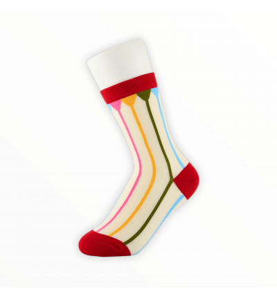 """Moteriškos kojinės """"Vaivorykštė"""""""